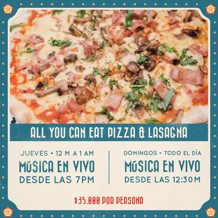 All You Can Eat Pizza Circo Salitre