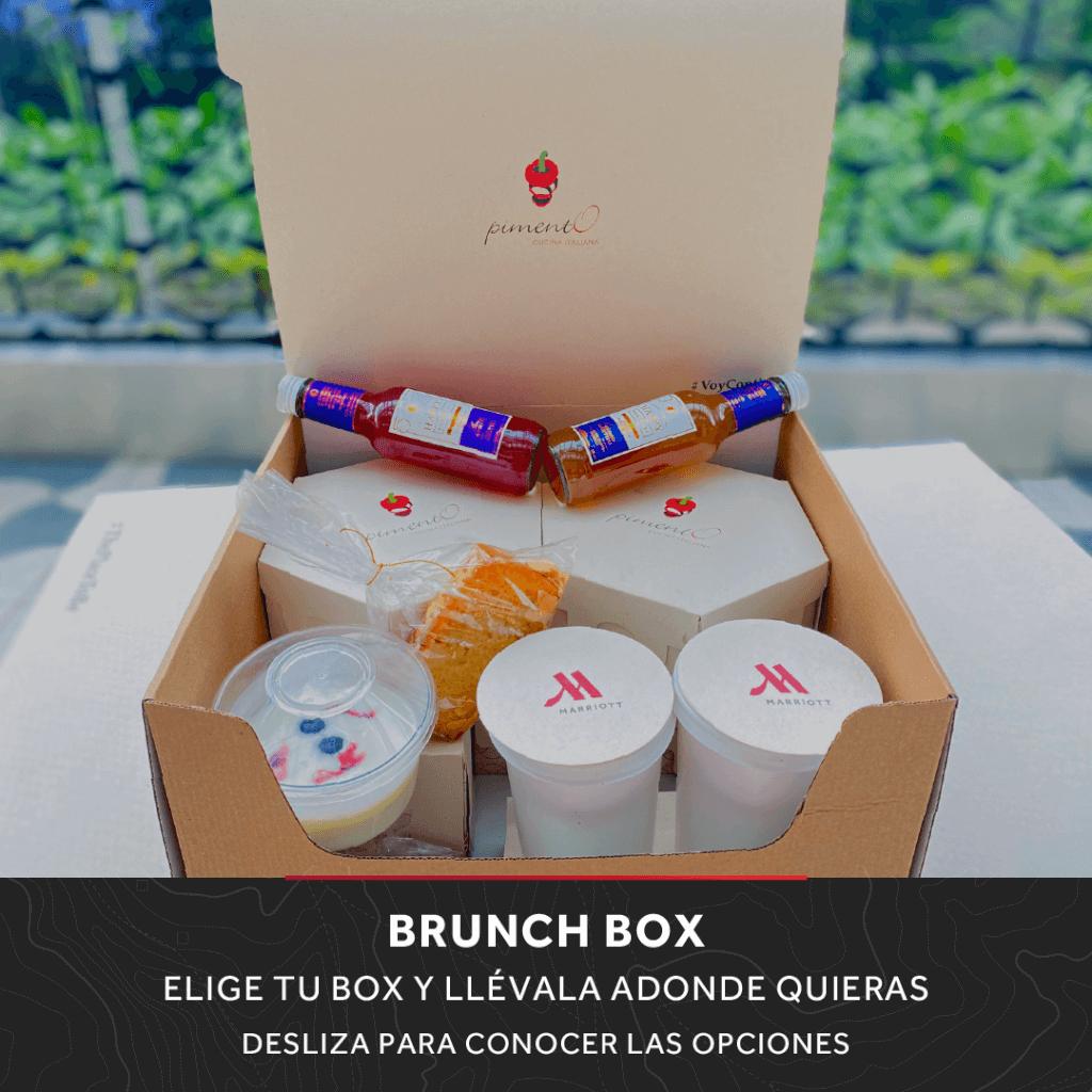Brunch Box para llevar en Marriott Bogotá