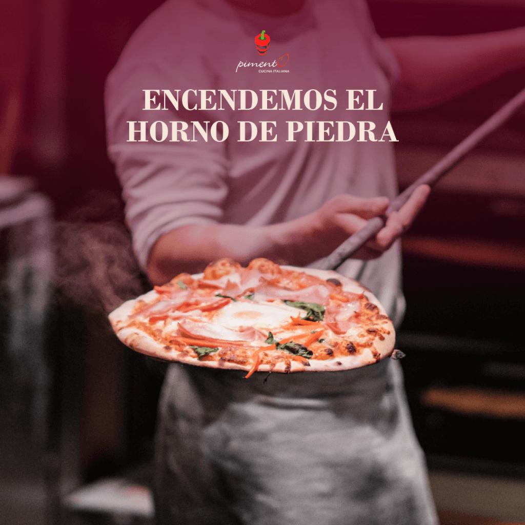 Pide la pizza de CIRCO en nuestras mesas