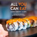 All You Can Eat Tanoshii Bogotá $44.000 por persona