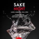 Sake Night en Salitre Cocteles desde $16.000