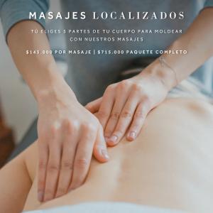 Masajes Focalizados Spa Marriott Bogotá
