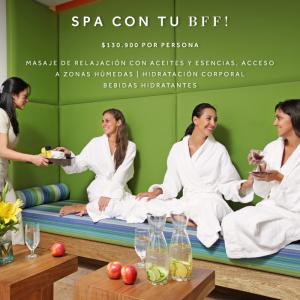 Spa con tu BFF Spa Marriott Bogotá