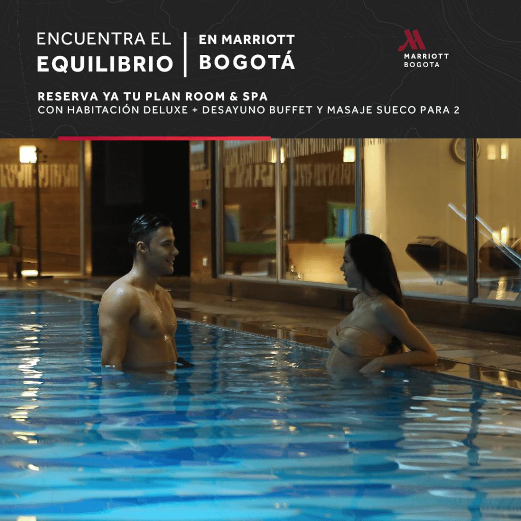Plan Room & Spa en Marriott Bogotá