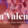 Cena romántica para celebrar San Valentín en Marriott Medellín